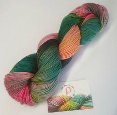 If you're a joker hand dyed superwash merino nylon by Pollyorange