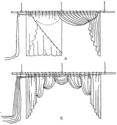 схемы штор - Поиск в Google Italian stringing