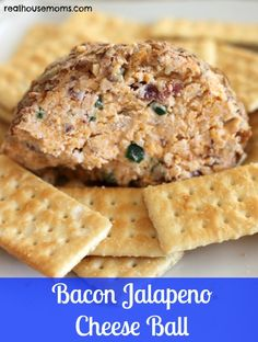 Bacon Jalapeno Cheese Ball - 5 out of 5 stars - Easy & delicious. I used 3 jalapenos. Next time I would add another one.