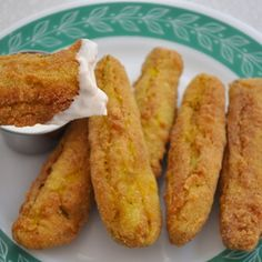 FRIED DILL PICKLES...Beware, you will start dreaming about these after you have tried them.
