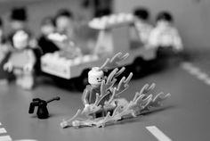 Internet Drinkability: Lego Art: Lego Classic Photographs