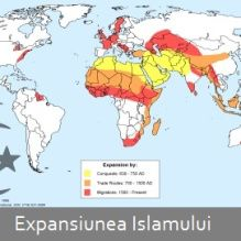 islam-expansion The Expanse, Islam, Diagram, Map, World, Location Map, Maps, The World