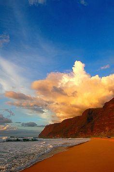 Polihale Beach, Polihale State Park, Kauai, Hawaii