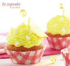 La recette des cupcakes au citron. #blancheporte
