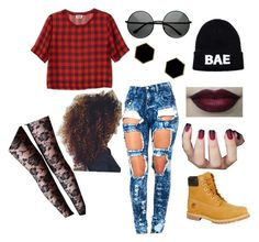 """Crimson"" by nanomisahi on Polyvore"