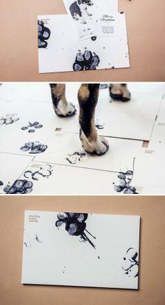 moodley xmas card #print