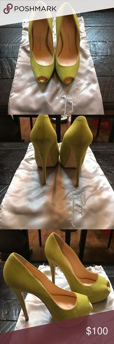 Giuseppe Zanotti heels In used condition! No box available only dust bag! Giuseppe Zanotti Shoes Heels