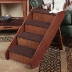 "Solvit PupStep Wood 4 Step 24"" Pet Stair"