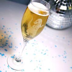 1 T-Rex Champagne Flute - dinosaur wedding party. Dinosaur Wedding, Nerdy Valentines, Champagne Flutes, T Rex, Home Gifts, Wedding Ideas, Center Pieces, 30th Birthday, Sally