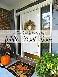 Fabulous White Door Paint