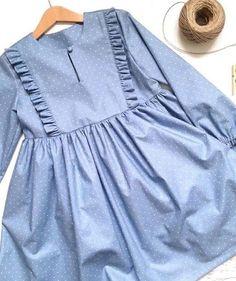 50 Ideas For Sewing Dress For Little Girls Mom Girls Frock Design, Kids Frocks Design, Baby Frocks Designs, Baby Dress Design, Stylish Dresses For Girls, Stylish Dress Designs, Frocks For Girls, Little Girl Dresses, Girls Dresses Sewing