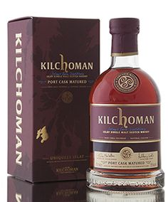 Kilchoman Port Cask Matured bottled at 55% abv