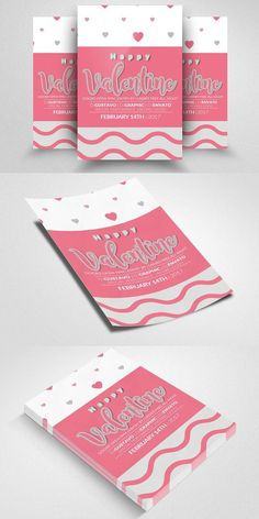 Valentines Party Flyer Templates. Flyer Templates. $6.00