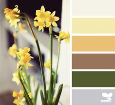 { spring tones } image via: @auntieclaras