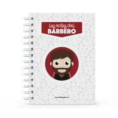 Cuaderno - Las notas del barbero, encuentra este producto en nuestra tienda online y personalízalo con un nombre. Notebook, Barbers, Notebooks, Report Cards, Store, The Notebook, Exercise Book