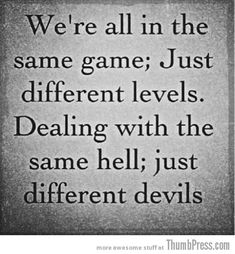 Same hell Different devils