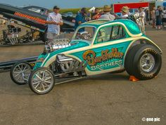Fiat Topolino drag car