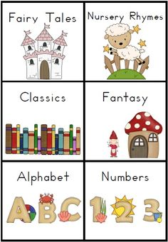 60 x Book Bin Labels for the Classroom   A 13 page file for your classroom library.    Organize your book shelf with these cute book bin labels, one blank label page, classroom library poster and library rules poster. $