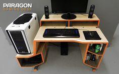 PARAGON Gaming Desk Design by Tom Balko - Furniture Design Blog - Furniture Design Ideas   Furniii
