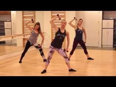 Barre Fitness gets you a dancers body. An intense and fun workout that combines the best elements of ballet barre, pilates, sports cond. Arm Workout Videos, Barre Workout Video, Workout Videos For Women, Youtube Workout, Butt Workout, Arm Workouts, Ballet Workouts, Quick Workouts, Wellness Fitness