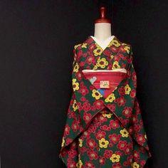 お手軽なアンティークや銘仙、紬をUP! . . ショップへはプロフィールから . . #雅星 #雅星本店 #着物 #着物コーデ #着物コーディネート #小紋 #名古屋帯 #アンティーク着物 #kimono #japan #japanese #japanesestyle #japanesefashion