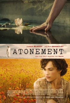 Movie Posters Improved With Animation: Atonement. The poster alone is gorgeous. The movie slays me every single time. Animated Movie Posters, Movie Gifs, Movie Tv, Animated Gif, Love Film, Love Movie, James Mcavoy, Keira Knightley, Atonement Movie