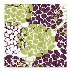 Wine Country Blooms Shower Curtain - would love to have these colors in my bathroom!