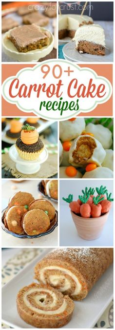 Over 90 Carrot Cake Recipes