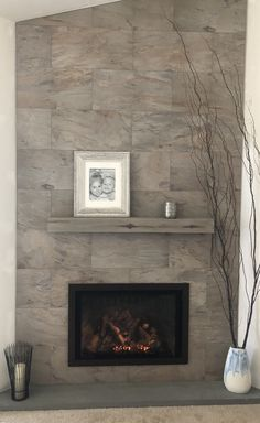 Mendota Hearth Dxv 35 Gas Fireplace Shown With Deerfield