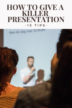 At some point in your career, you are likely going to be asked to give a presentation. That is a prospect that makes a lot of people nervous!
