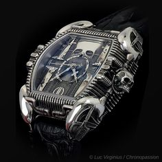 """Swiss watch brand Strom today presents the """"In Memorian HR Giger"""" watch, one of the final projects on which the artist worked before his death in 2014. A veritable """"wrist sculpture"""", the timepiece features HR Giger's legendary biomechanoid creature. Acclaimed for his """"fantastic-realism"""" works, HR Giger shot to fame with his creation of the monster…"""