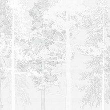 Fotobehang - Weaving Wood White