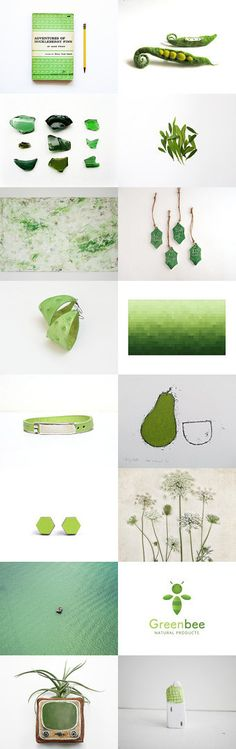 GrEeN wOrLd by •Bec on Etsy--Pinned+with+TreasuryPin.com