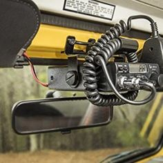 Rugged Ridge Jeep Wrangler TJ CB Radio Mount