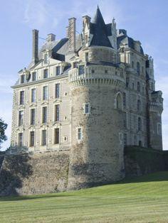 Chateau Brissac-Quince, Near Angers, Maine-et-Loire, France