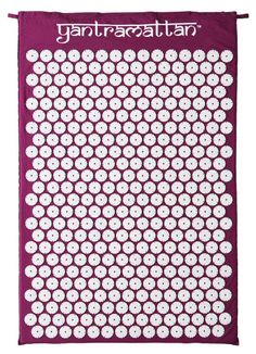 Love my yantra mat. Cures headfaches, neck pain, back pain and tensions. Get one!!