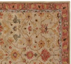 New-Pottery-Barn-Elham-Rug-Persian-Handmade-Wool-Area-Rugs-amp-Carpet