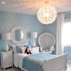 Beautiful blue room
