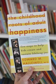 This parenting book has been my north star: The Childhood Roots of Adult Happiness