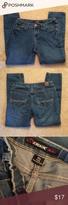 Jordache skinny 10.5 plus adjustable waist jeans Jeans Jordache Bottoms Jeans