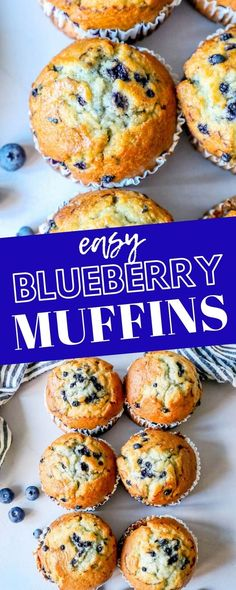 The Best Easy Jumbo Blueberry Muffins Recipe - Sweet Cs DesignsYou can find Muffins recipes easy and more on our website.The Best Easy Jumbo Blueberry Muffins Recipe. Jumbo Blueberry Muffin Recipe, Homemade Blueberry Muffins, Jumbo Muffins, Simple Muffin Recipe, Egg Muffins, Easy Blueberry Desserts, Blueberry Zucchini Muffins, Blueberry Cookies, Blueberry Bread