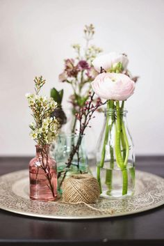 living with flowers  {and Iva's jewelry bracelet winner}