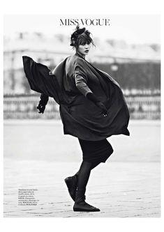 Karlie Kloss editorial VOGUE PARIS MARCH 2013