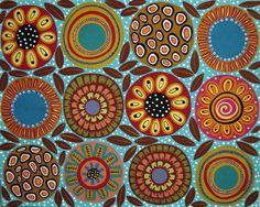 karla gerard artist | Twelve Blooms Painting - Twelve Blooms Fine Art Print