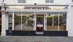 Paul Rothe & Son: English & Foreign Provisions, Marylebone Lane, W1