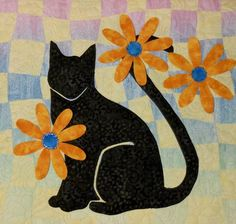 Miss Daisy applique pattern by Erin Underwood Quilts
