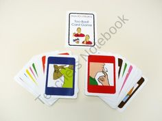 Too - Bad ! ASL card game (colors)  product from HandCraftEdASL.com