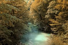 Autumn river by M Cosmin on 500px