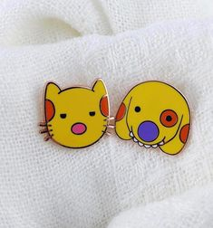 Tooth Enamel, Dog Pin, Baby Diaper Bags, Cool Pins, Pin And Patches, Hard Enamel Pin, Cute Packaging, Pin Badges, Pin Collection