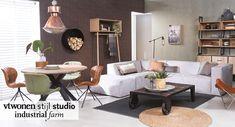 vtwonen stijl studio industrial farm